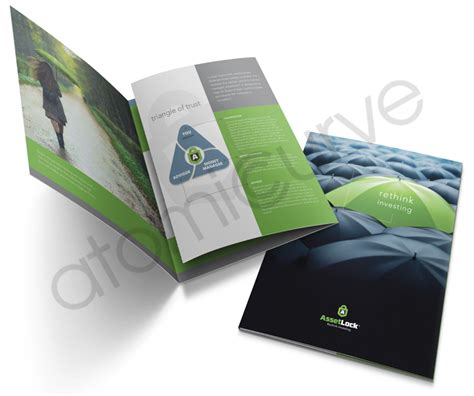 8 5 X 11 Folded 6 Page Brochure Template Adobe 6 Page Brochure Design Atomic Curve Design