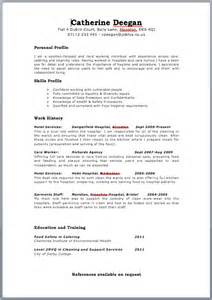 driver resume format images for job interviews free targeted cv template zone jobfox uk
