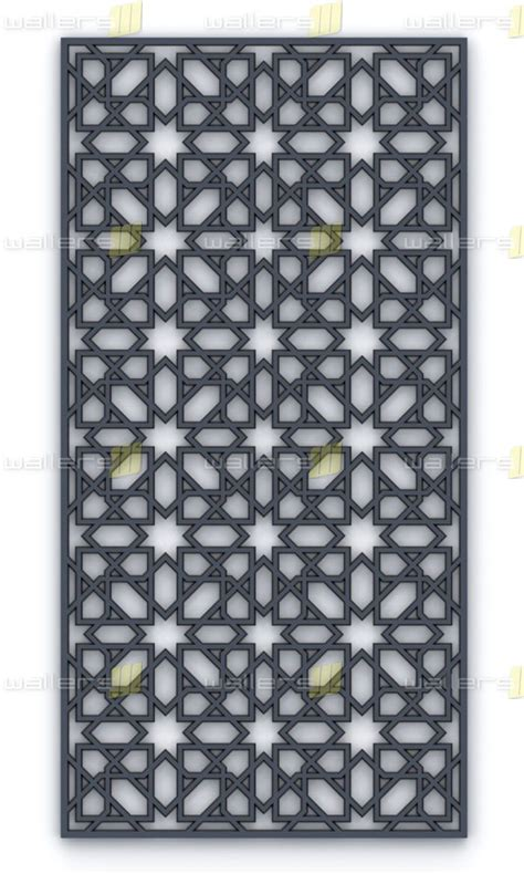 wg  islamic  fretwork mdf grille panel wallers