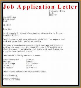 application letter for job vacancy pdf With how to write a covering letter for a job vacancy