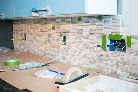 How To Install A Carrara Marble Mosaic Tile Backsplash, Part 2