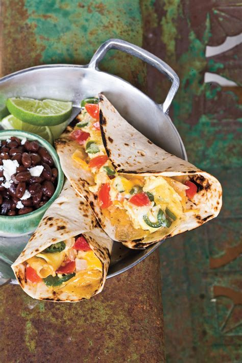 scrambled egg fajitas tamara leigh taco recipes southern living
