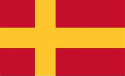 Flag Swedish Speaking Finns Svg Flagge Lippu