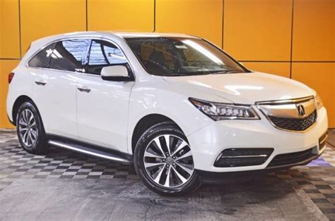 Sussman Acura Jenkintown by Certified Pre Owned 2016 Acura Mdx Sh Awd With Technology