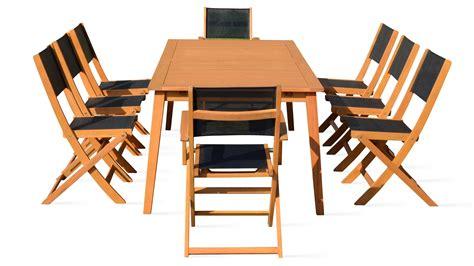 table avec chaises stunning table de jardin pliante en bois avec chaises