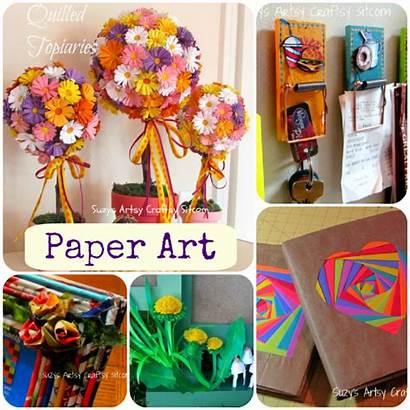 Paper Crafts Craft Projects Unusual Suzyssitcom Sitcom
