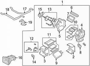 Mazda 626 Actuator  Hvac Heater Blend Door Actuator