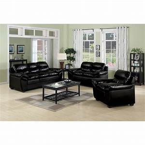 living room design black leather sofa home design ideas With interior decorating ideas black leather sofa