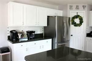Kitchen in Snow White Milk Paint General Finishes Design