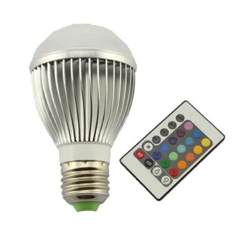 remote control color changing lights led remote control color changing light bulb cool stuff dude