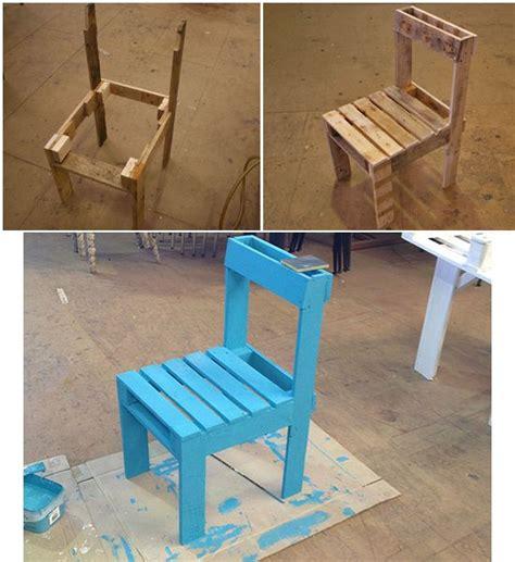 sedie da giardino fai da te sedia di pallet recupero fai da te pallet projects