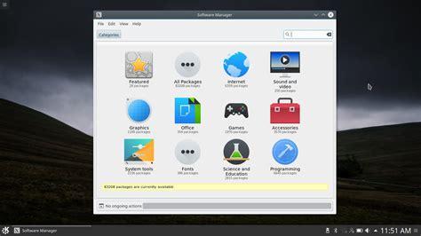 linux bureau linux mint 18 1 et le bureau kde