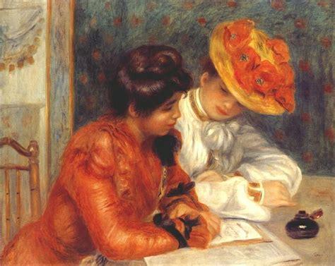 Le Lettre 1900 De Pierre Auguste Renoir 1841 1919