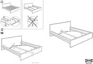 ikea beds malm bed frame full double pdf assembly