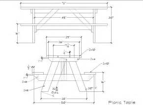 8 foot picnic table plans 187 woodworktips
