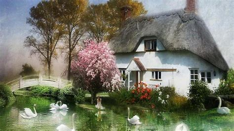 english cottage wallpaper gallery