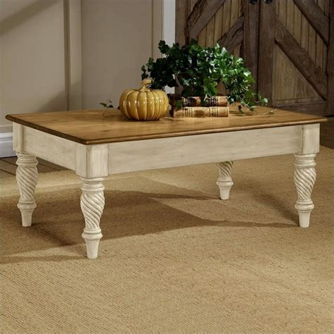 antique white coffee table hillsdale wilshire distressed rectangular cocktail antique