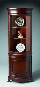 Corner, Cabinet, With, Glass, Doors, U2013, Homesfeed