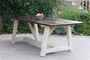truss beam table with a reclaimed wood base available on With barn beams craigslist