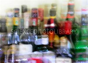 Double vision and alcohol - Stock Image C028/8421 ...