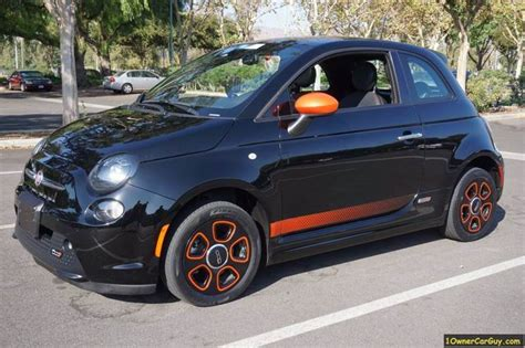 Fiat 500 Electric Car by 2015 Fiat 500e Electric Car In El Cajon Ca 1 Owner Car