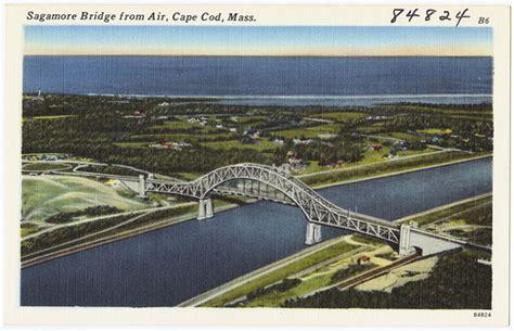 Sagamore Bridge From Air, Cape Cod, Mass  Flickr Photo