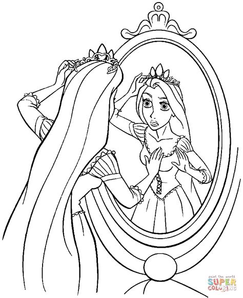 rapunzel coloring pages princess rapunzel coloring page free printable coloring