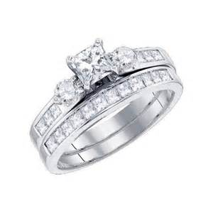 princess cut wedding set bridal sets bridal sets princess cut