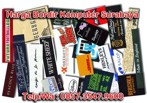 Harga Bordir Komputer Surabaya