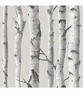 WallPops® NuWallpaper Birch Tree Peel And Stick Wallpaper ...