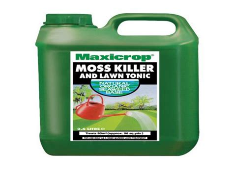 moss killer buy maxicrop moss killer lawn tonic 2 5l from our plant food care range tesco