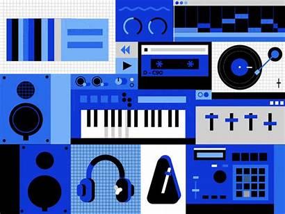 Production Studio Metronome Dribbble Basic Atanas Giew