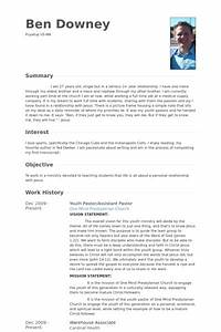 ministry resume templates resume template easy http With ministry resume builder