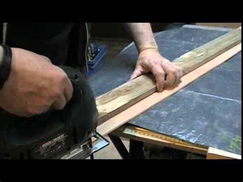 comment couper droit  la scie sauteuse circulaire