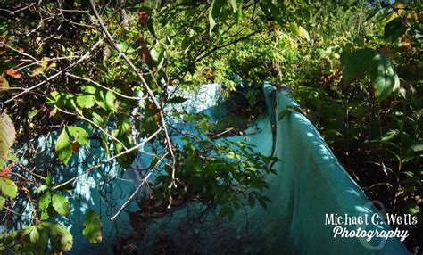 michael  wells photography abandoned waterslides