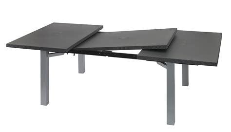 table avec chaise intégrée emejing table de jardin avec rallonge integree pictures