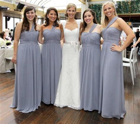 gray bridesmaids dresses grey bridesmaid dresses