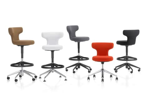 bureau high pivot office swivel chair high by vitra stylepark