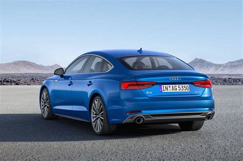 new audi a5 s5 sportback revealed sale mid 2017 performancedrive