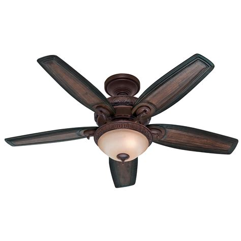 54014 claymore large room ceiling fan with light