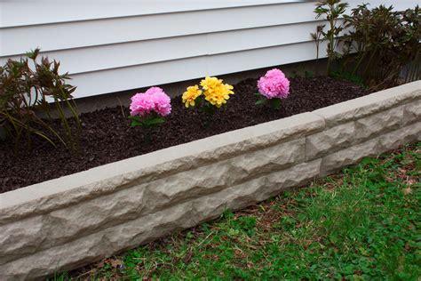 Gartenumrandung Aus Stein by Border Edging Landscape Wall Brick Decorative