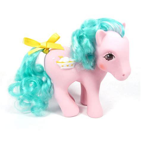sundae g1 ponies mlp six surprise pony banana under
