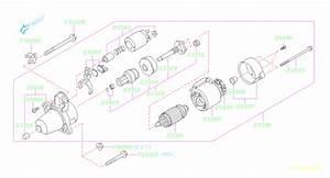 Subaru Forester Starter Motor Assembly  Maintenance  Engine  Cooling  Alternator