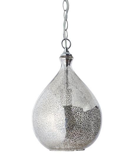mercury glass pendant light mercury glass 1 light pendant
