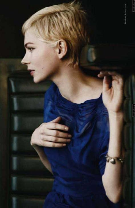 michelle williams pixie haircuts pixie cut