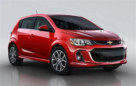 2017 Chevrolet Sonic Updated With Carplay New Styling