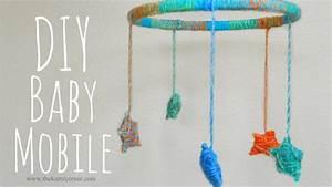 Mobile Baby Diy : diy yarn stars baby mobile youtube ~ Buech-reservation.com Haus und Dekorationen