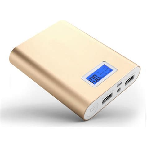 portable charger for android new 10400mah 5v 1a 2 1a usb power bank portable