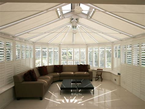 Ceiling Blinds For Sunrooms by Ceiling Blinds For Sunrooms