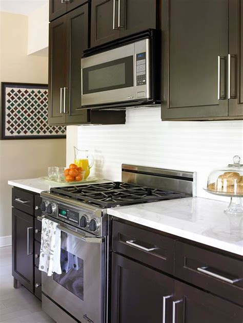 small kitchens with dark cabinets small kitchen remodel blending old and new square feet